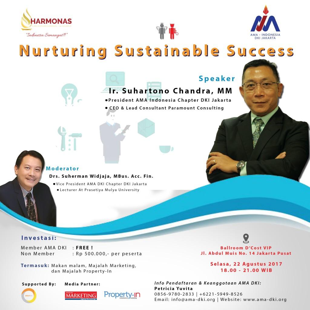 nurturing sustainable success